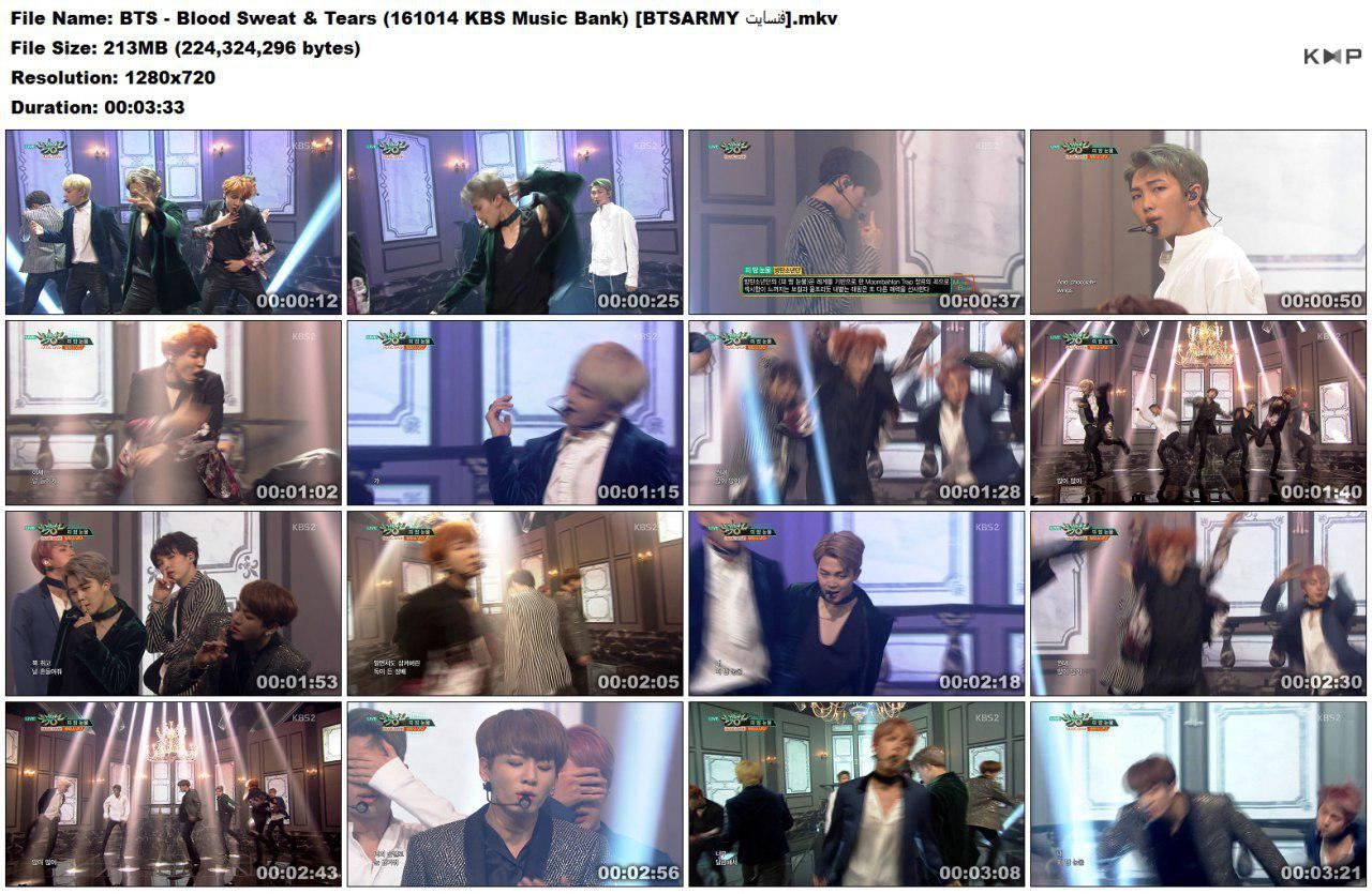 vfly photo 2018 06 16 18 33 07 (4) - Video/Link] BTS Performance Music Show 2nd Full Album 'Wings' Blood Sweat & Tears]