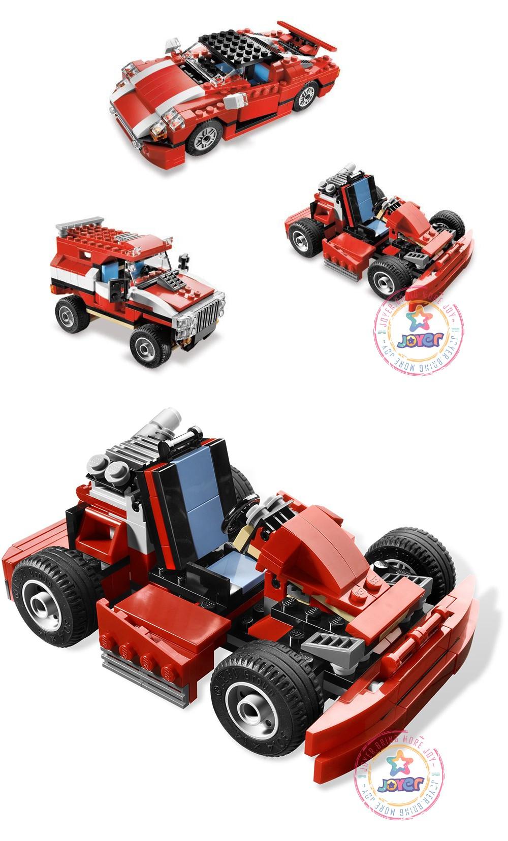 اسباب بازی لگو ساخت ماشین