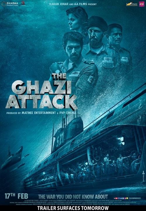 دانلود فیلم The Ghazi Attack 2017