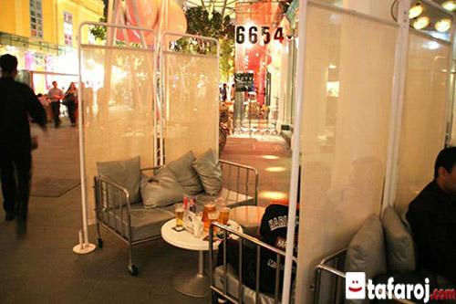 رستورانی عجیب در سنگاپور