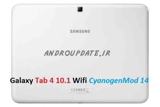 رام اندورید7 بر روی Galaxy Tab4 10.1 WiFi