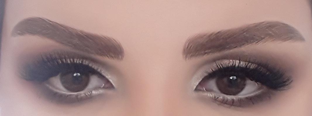 [تصویر: عکس آرایش چشم خودتون در روز عروسی+ اسم آرایشگاه یا آرایشگر]
