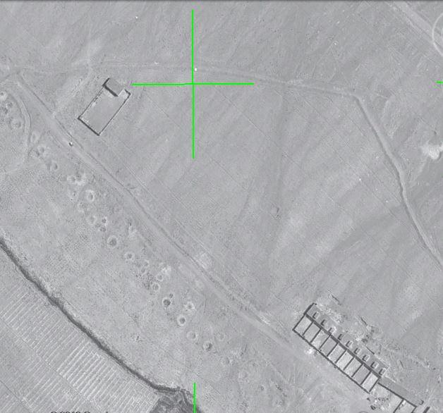 تصویر هوایی سازمان نقشه برداری ژئورفرنس شده (ارتوفتو)