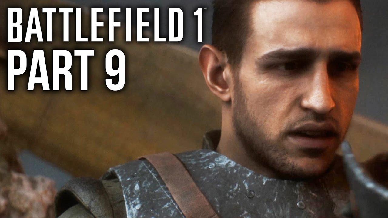 گیم پلی بازی بتلفیلد 1 مرحله 9 - Battlefield 1 Gameplay