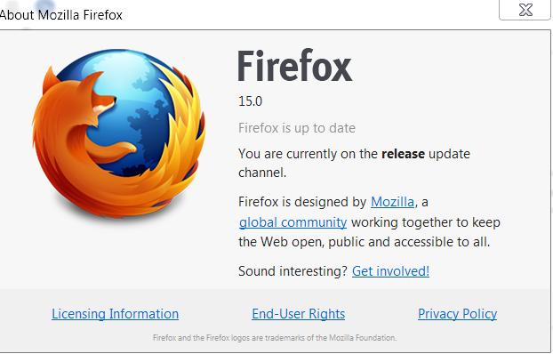 وبگردی سریع و امن با فایرفاکس Firefox 15.0