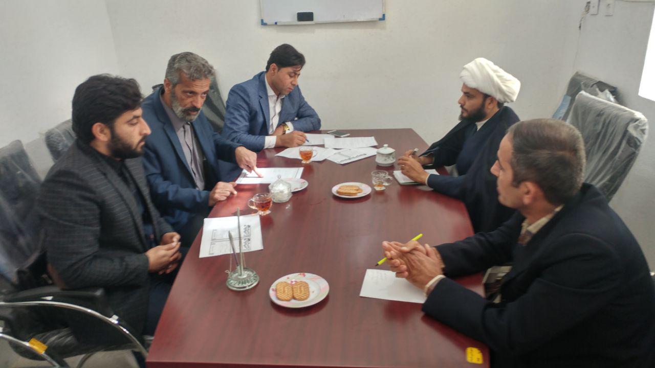 جلسه اعضای کمیسیون حقوقی ، فرهنگی و اجتماعی شورای اسلامی شهر بادوله