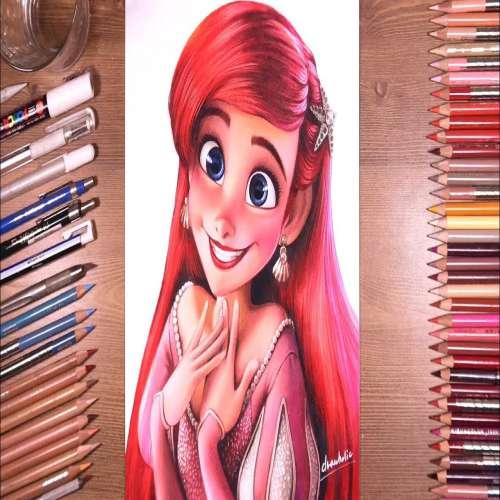 عکس های نقاشی دخترانه ساده