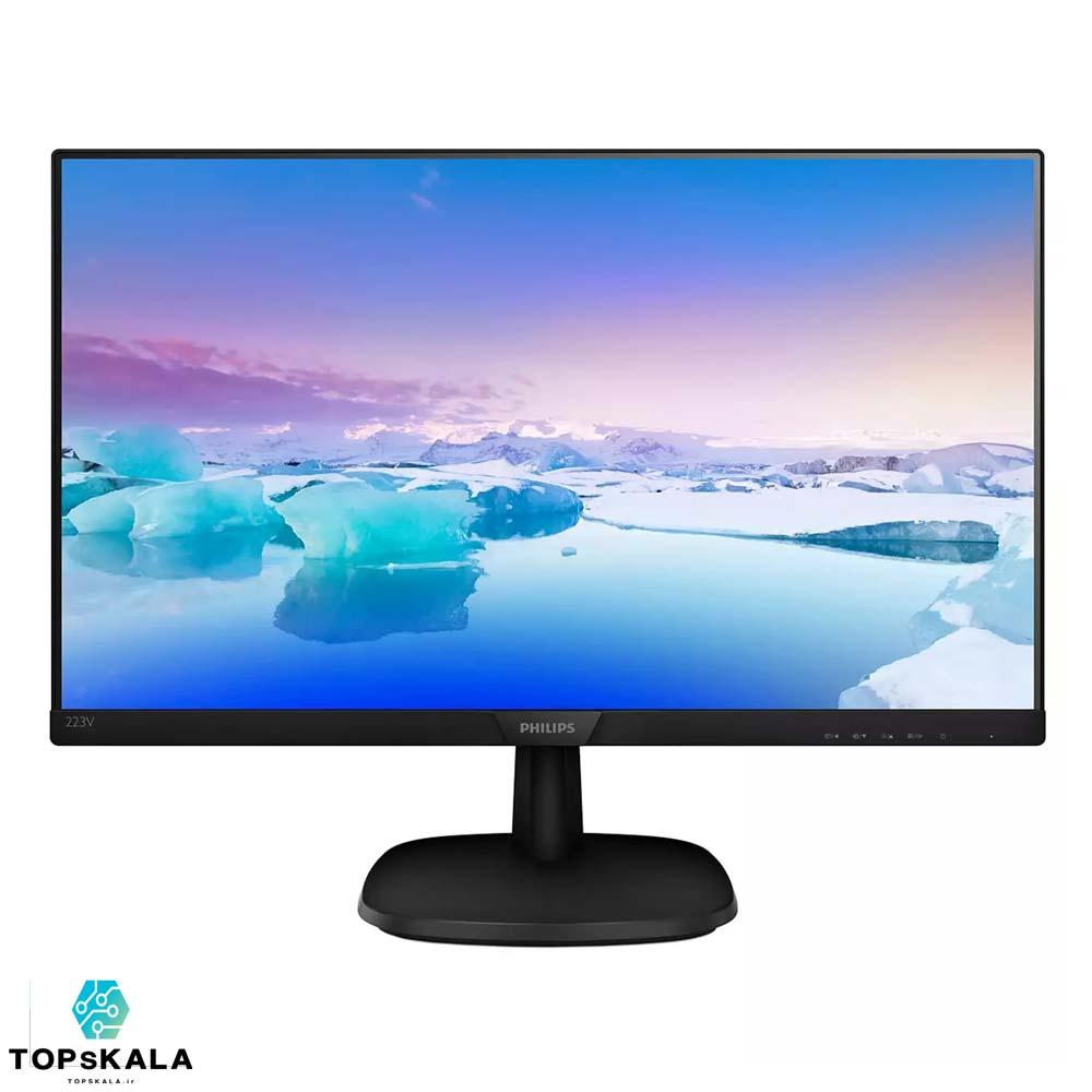 مانیتور آکبند فیلیپس مدل 223V7 سایز 22 اینچ محصول شرکت Philips با سایز 22 اینچ کیفیت تصویر Full HD دارای مهلت تست و گارانتی رایگان