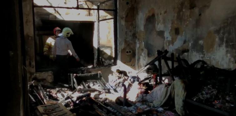 آتش سوزی منزل مسکونی قائمشهر