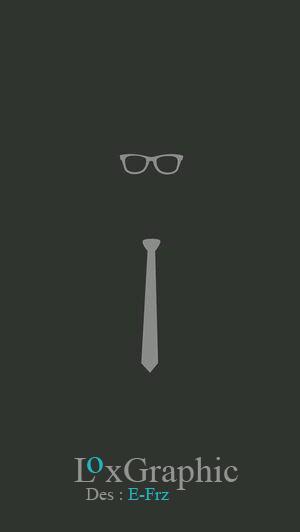 Glasses and Tie | طراحی گرافیکی | طراحی عینک و کراوات