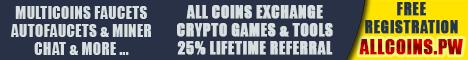 کسب ارزهای دیجیتال رایگان توسط سایت Allcoins