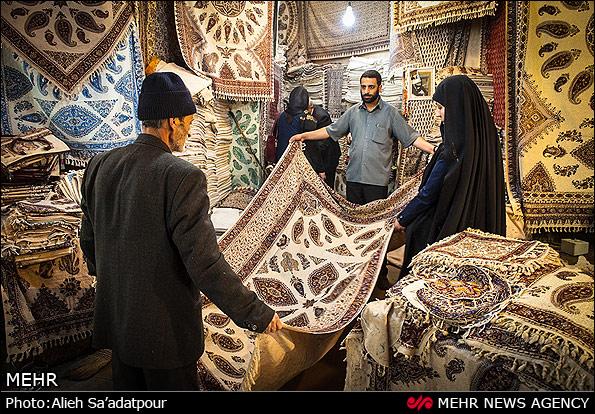 سفره قلمکار اصفهان