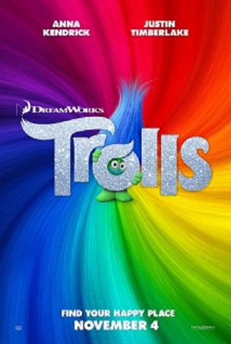 دانلود انیمیشن Trolls 2016