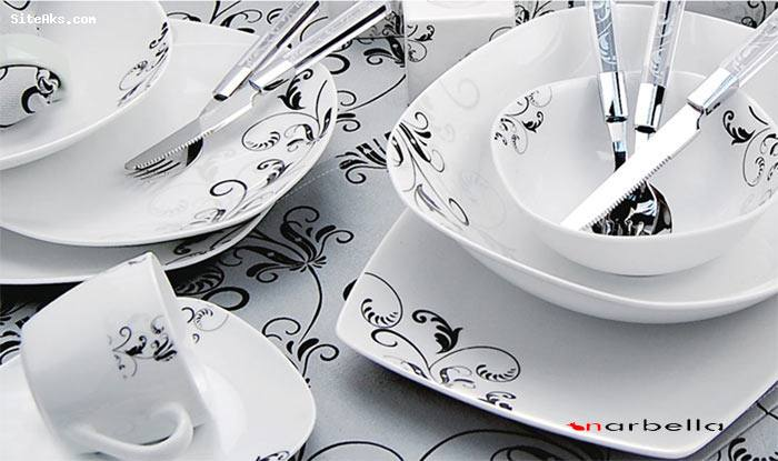 عکس جدیدترین ظروف چینی