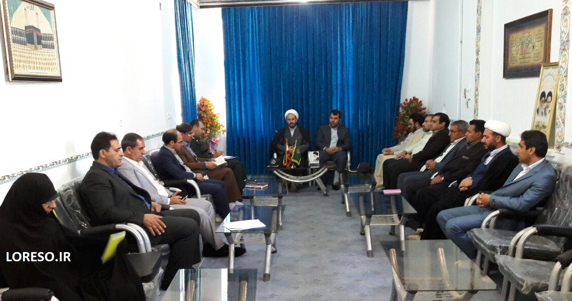 جلسه هماهنگی ارتحال امام(ره) و پانزده خرداد در الشتر