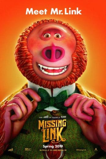 دانلود دوبله فارسی انیمیشن Missing Link 2019