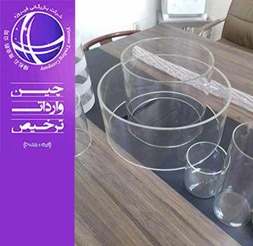واردات حباب شیشه ای