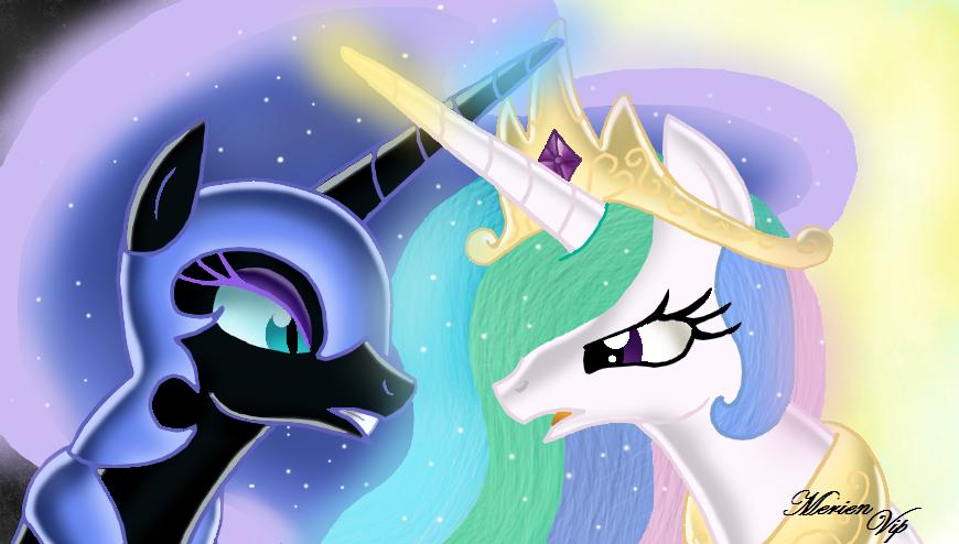princess celestia vs nightmare - photo #9