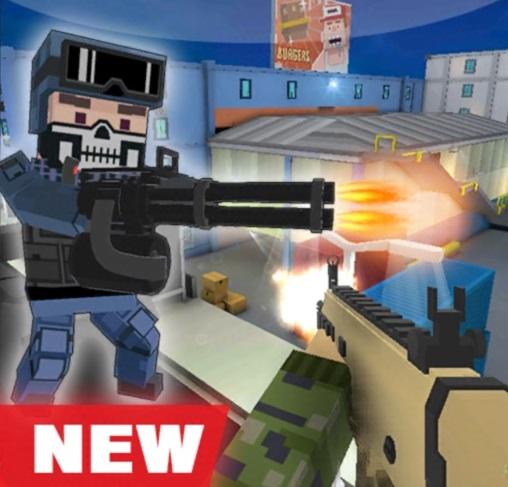 گیم پلی بازی Block Gun بخش اول