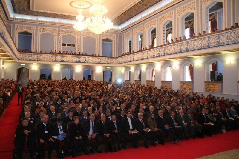 متن پیام رئیس هیات مدیره انجمن دوستی ایران و تاجیکستان به همایش کمال خجندی