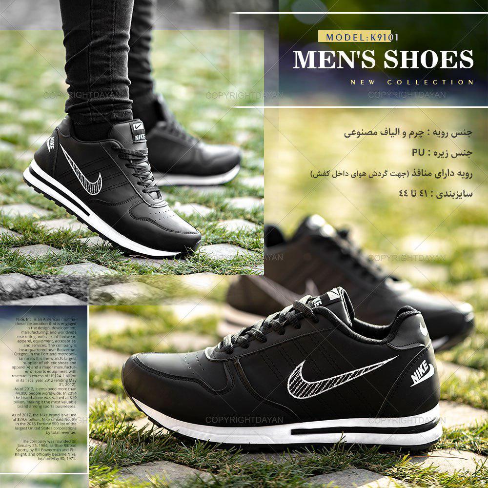 کفش مردانه Nike مدل K9101 (مشکی)
