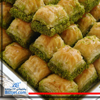 شیرینی پسته ای استانبول
