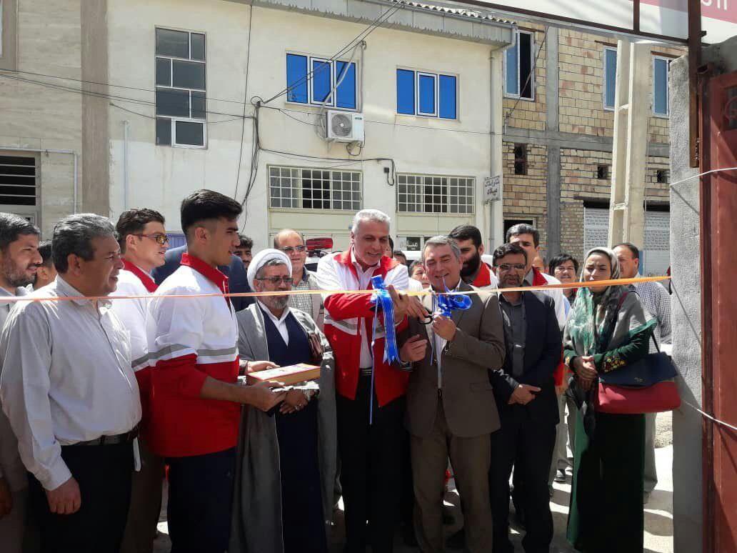 دفتر نمایندگی جمعیت هلال احمردر شهرستان مراوهتپه راه اندازی شد