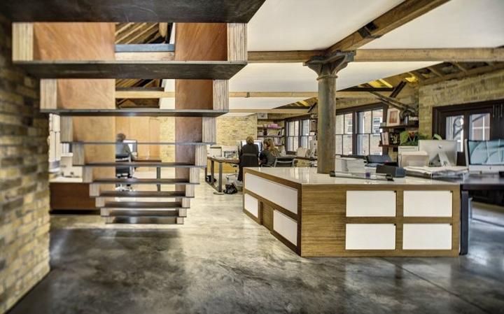 طراحی داخلی اداری مدرن و لاکچری (بخش 1)