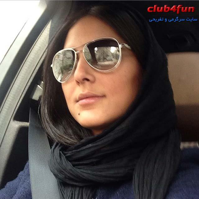 عکس سلفی جدید هدی زین العابدین ۹۴ , جدیدترین تصاویر شخصی هدی زین العابدین در سال ۹۴