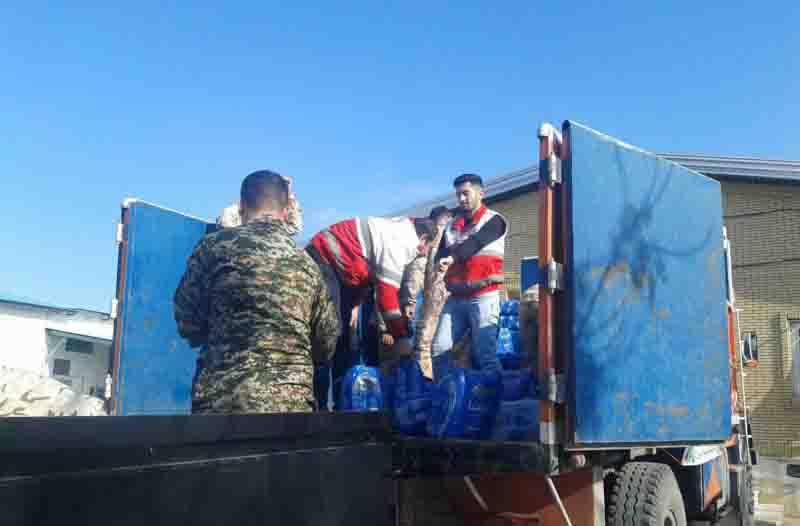 ارسال ۷ کامیون کمکهای غیرنقدی به مناطق سیل زده استان سیستان و بلوچستان