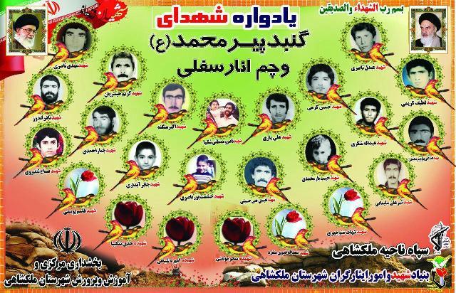 یادواره-26-شهید-روستای-گنبد-پیر-محمد-و-چم-انار-سفلی-برگزار-شد