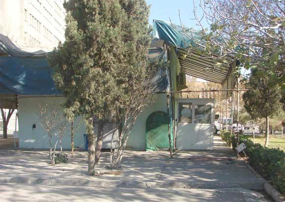 ساختمان قدیم امامزاده روح الله علیه السلام