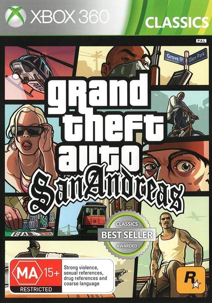 دانلود بازی Grand Theft Auto: San Andreas برای Xbox 360