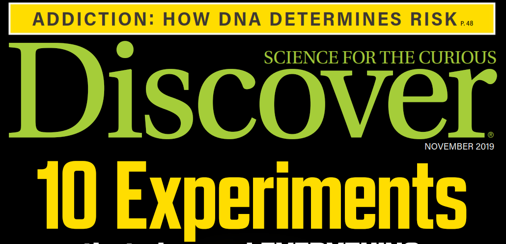 دانلود مجله discover سپتامبر 2019
