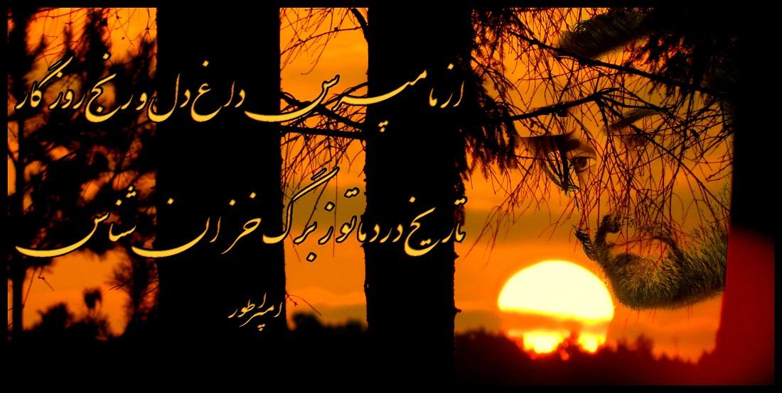 تصاویر و غزل تازه  از احمد محمود امپراطور شاعر دلها شاعر جوان و معاصر از کشور افغانستان AHMAD MAHMOOD IMPERATOR