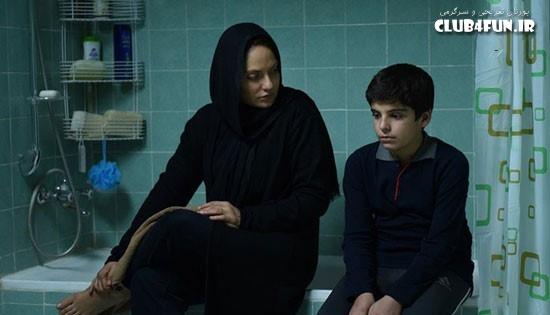 مهناز افشار در نمایی از فیلم «خانه ای در خیابان چهل و یکم»