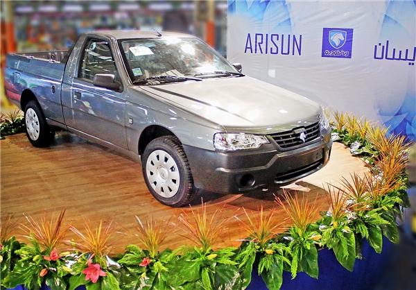 فروش اقساطی وانت آریسان - ایران خودرو - بهمن 96 (مدل 97)