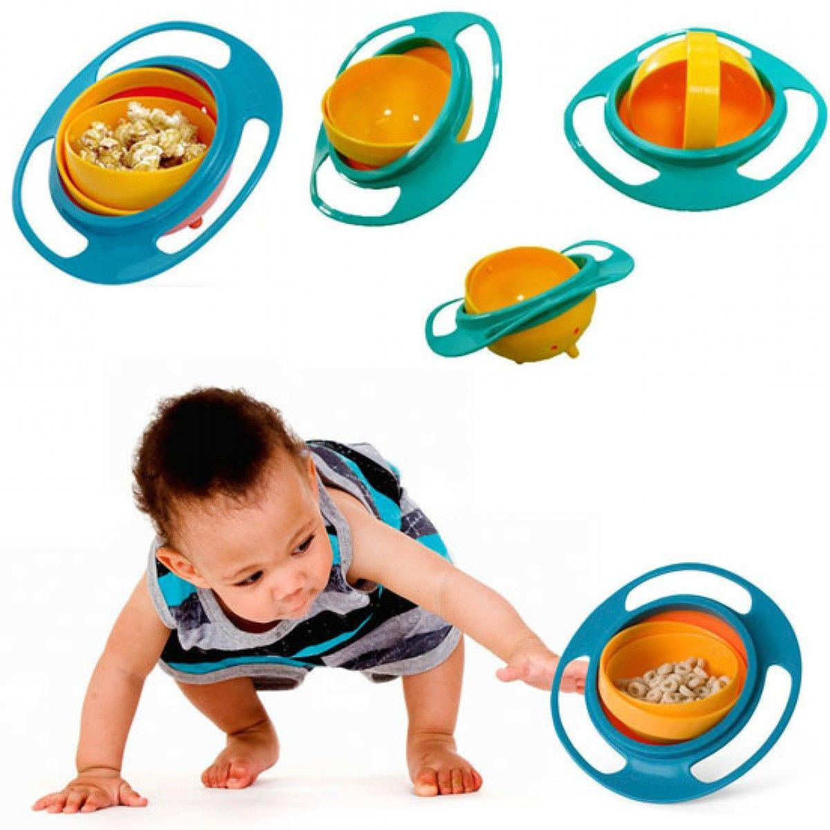 ظرف غذای کودک چرخشی Gyro Bowl