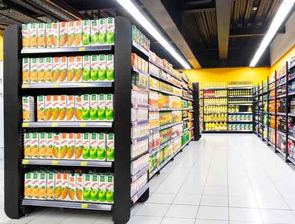 جذاب ترین قفسه های سنگین در هایپر مارکت ها