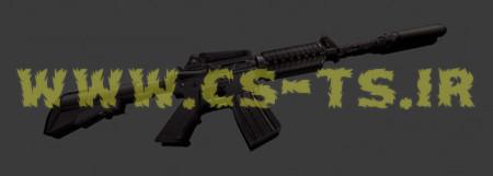 دانلود اسکین زیبای اسلحه ای oldie_m4_update برای کانتر 1.6