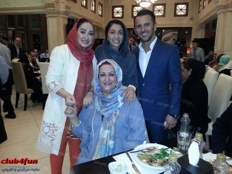 عکس های جمعی از بازیگران در شب عید دیدنی در میلاد نور