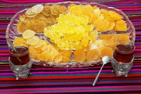 چای و پولکی اصفهان