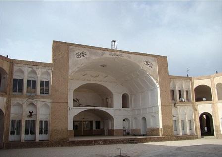 مدرسه شوکتیه بیرجند مکانهای تاریخی بیرجند