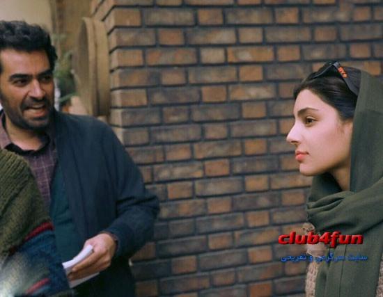 هستی مهدوی فر و شهاب حسینی در فیلم جدیدشان