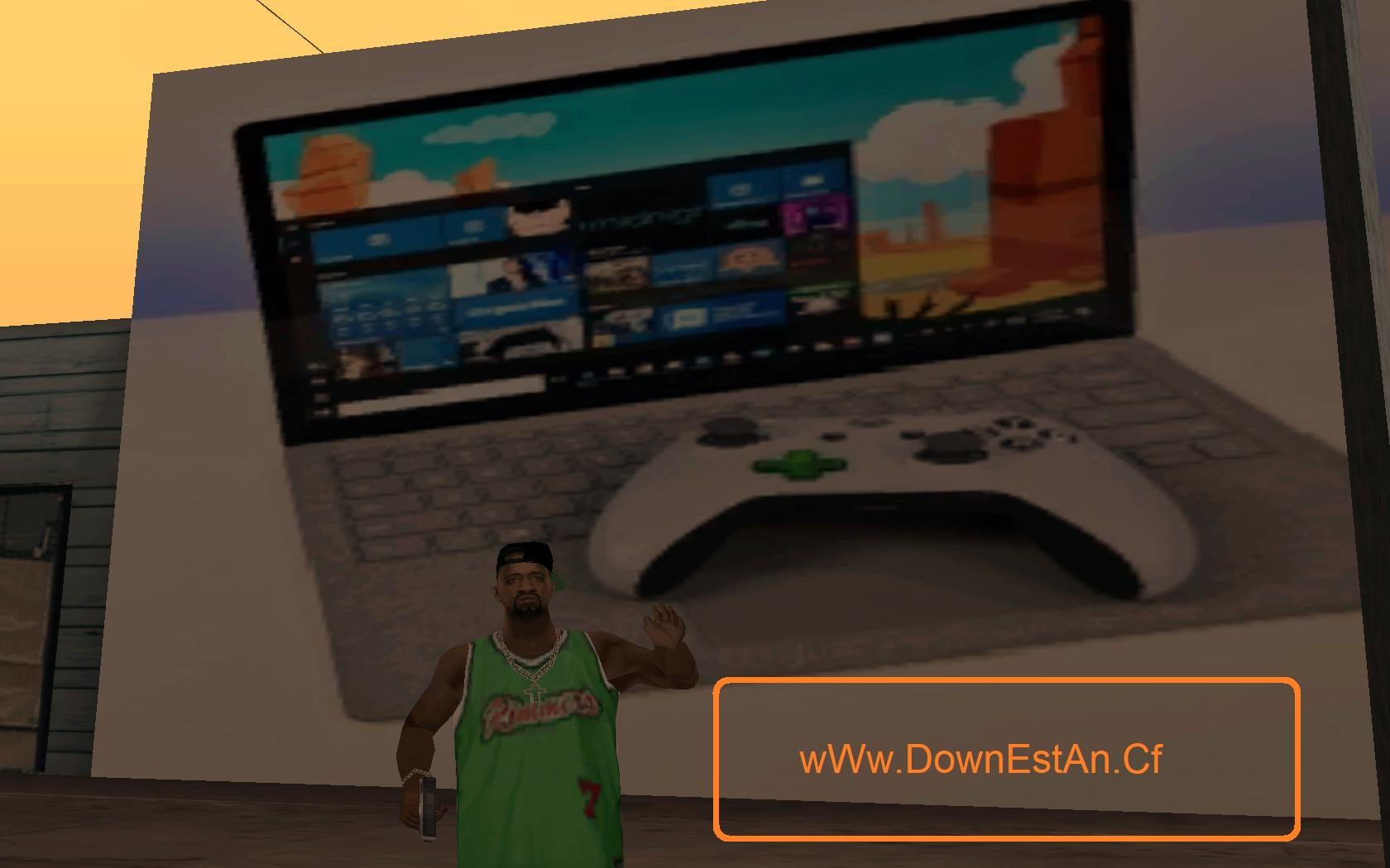 دانلود مود عکس گیمینگ روی دیوار برای بازی Gta San Andreas