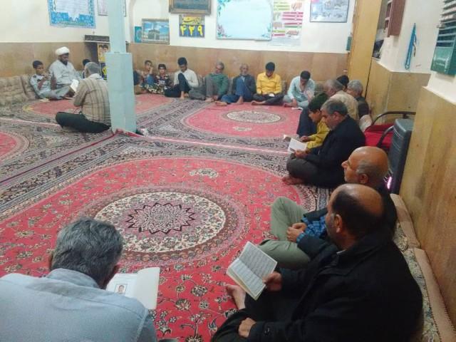 برگزاری مراسم دعای توسل در مسجد امام خمینی(ره)