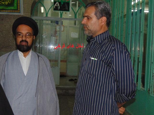 با ستارگان آسمان علم و دانش شهر فرخی (6) حجه الاسلام والمسلمین دکتر سید حسن قاضوی z9bf dsc06019
