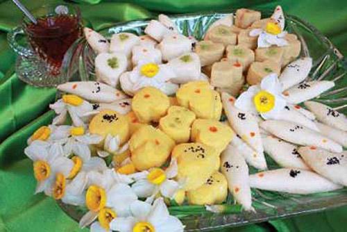 شیرینی عید نوروز