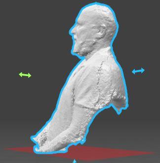 اسکن سه بعدی افراد و اجسام با روش نور ساخت یافته