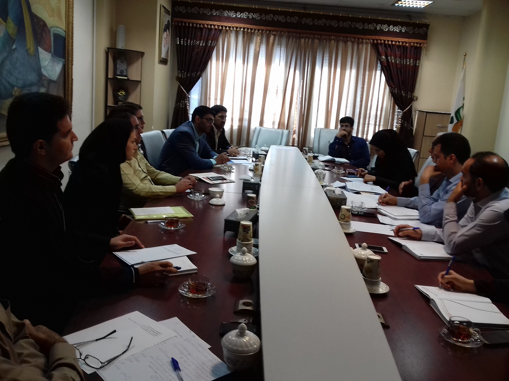 برگزاری شورای هماهنگی بین بخشی واحدهای نظارتی دانشکده